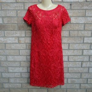 Size 2.Sue Wong lace embroidered cocktail dress